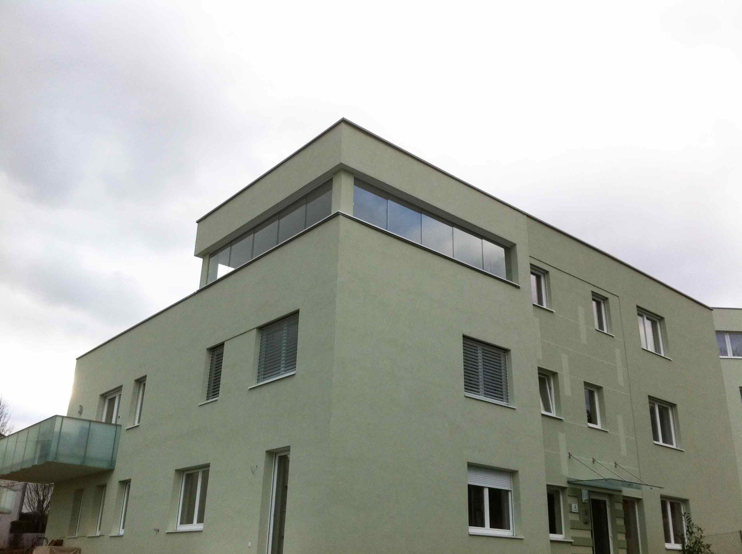 5-teilige Schiebeelemente für Balkon