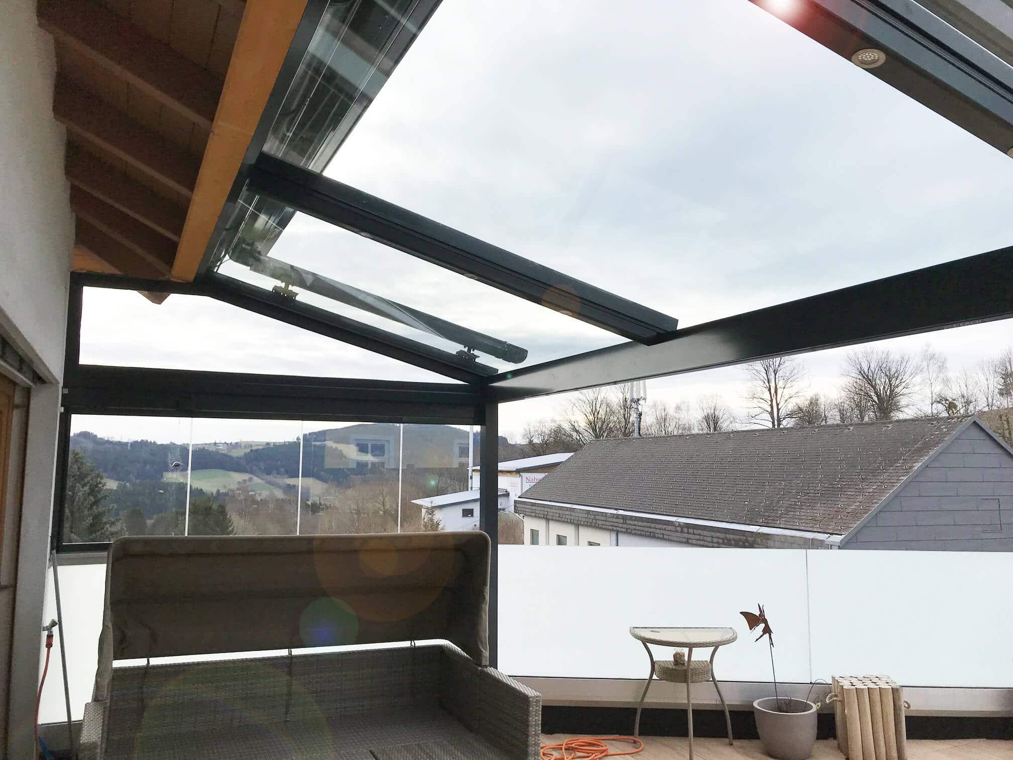 Aluminium Terrassenüberdachung Österreich