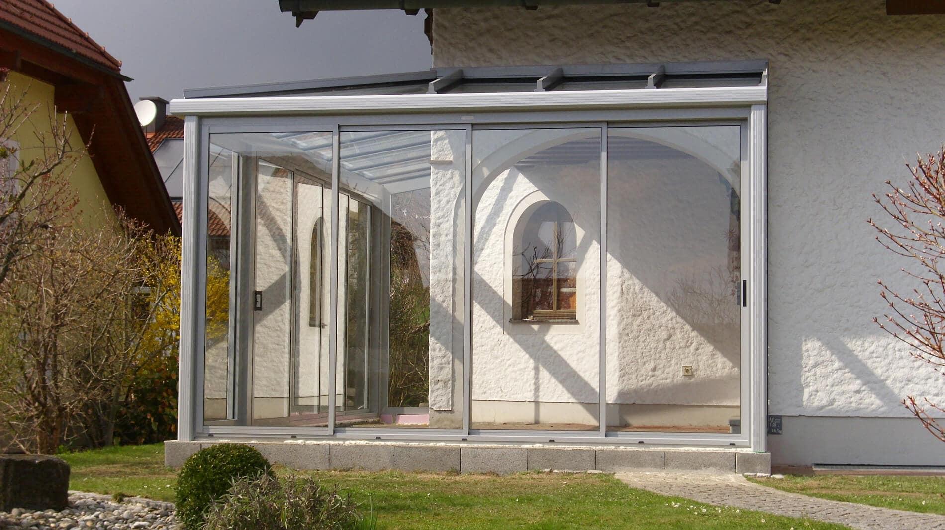 Aluminium Wintergarten Anbau