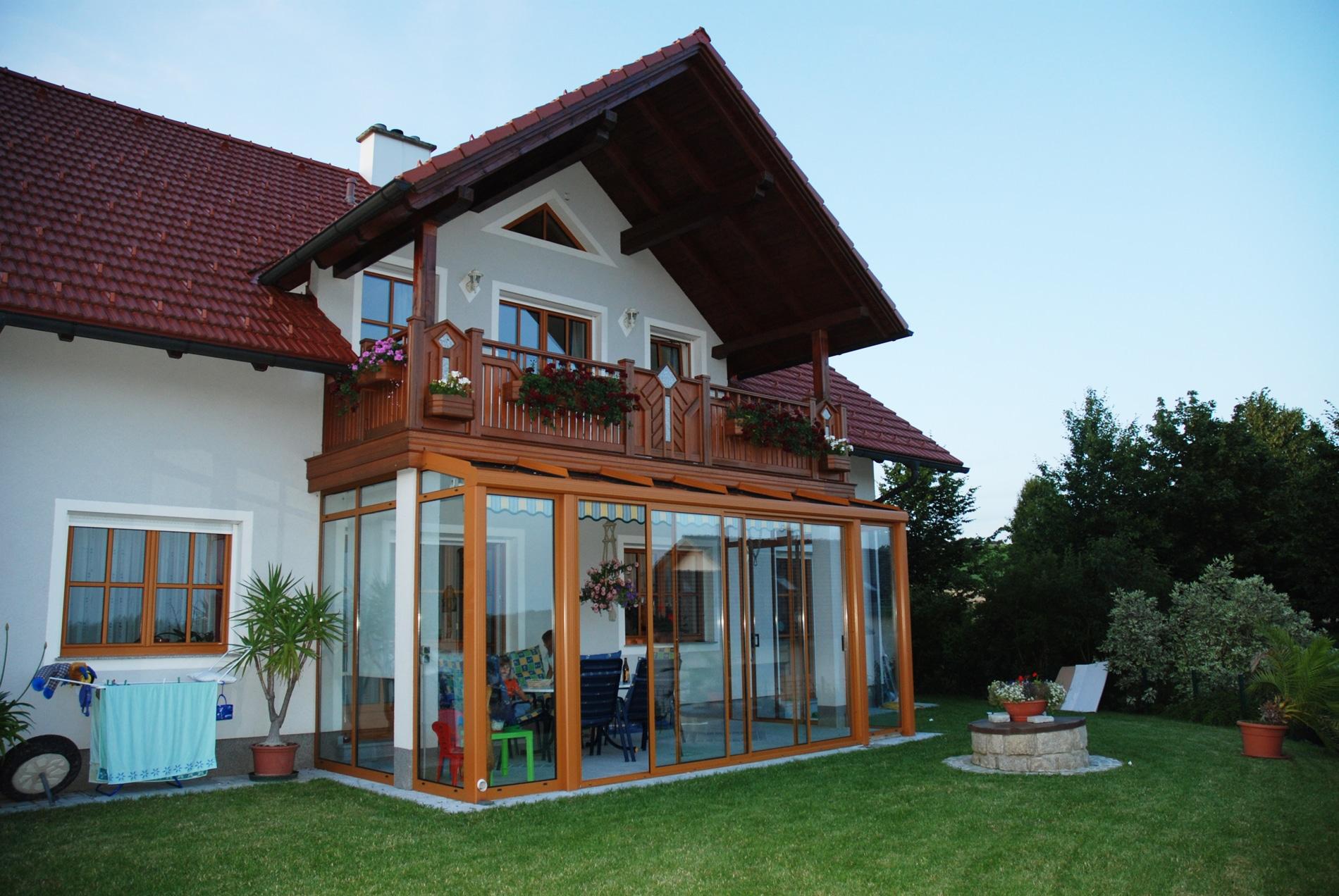 Aluminium Wintergartensysteme