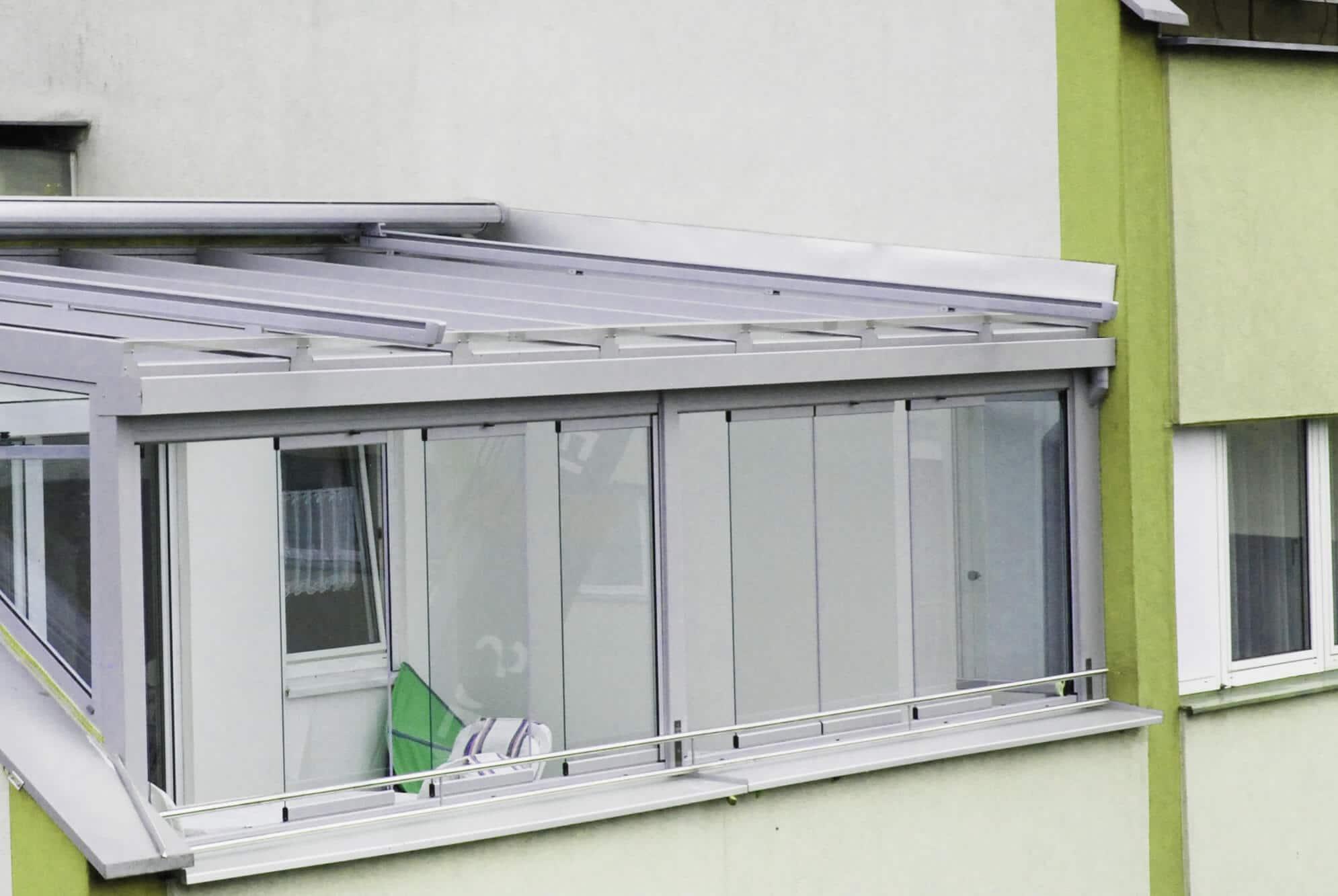 Aluminium-Sommergarten von Schmidinger auf Dach