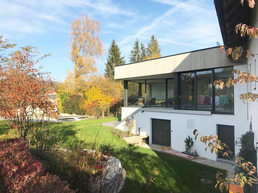 Anbau mit viel Licht - Fensterelemente von Schmidinger