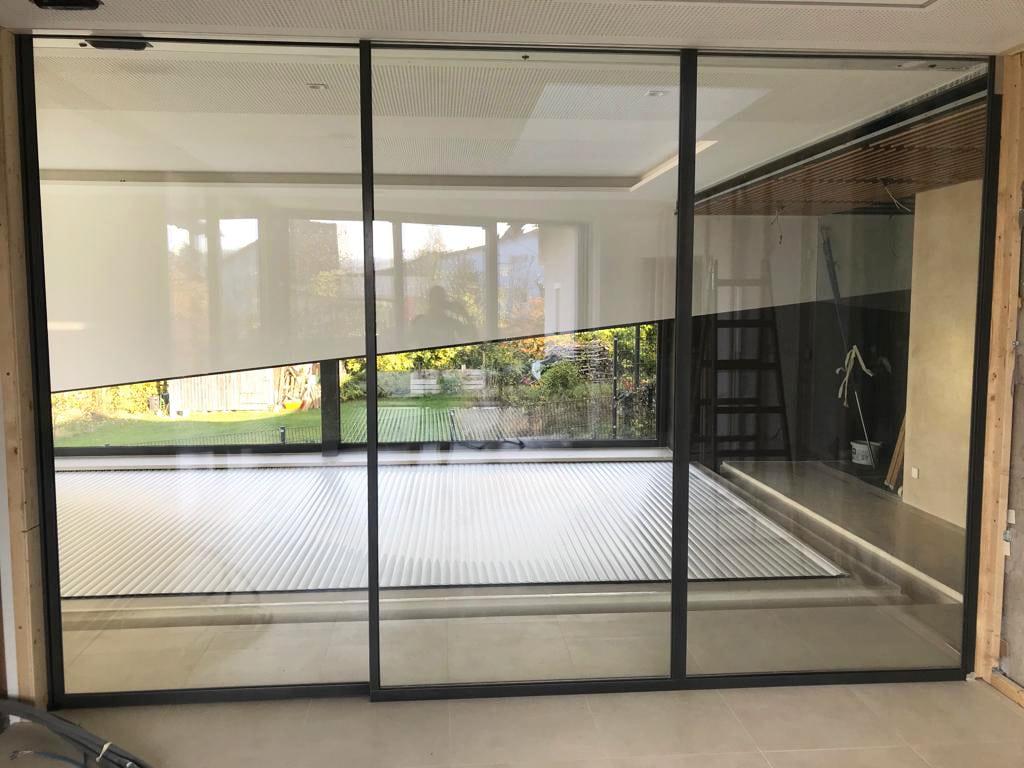 Automatik Schiebetüren Innenbereich für Anbau
