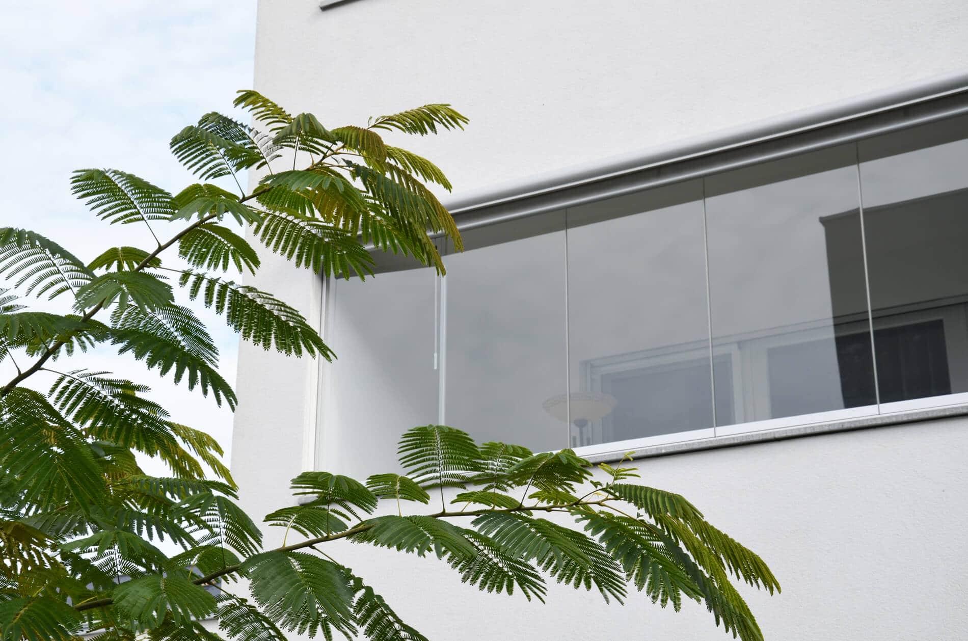 Balkon Faltelemente