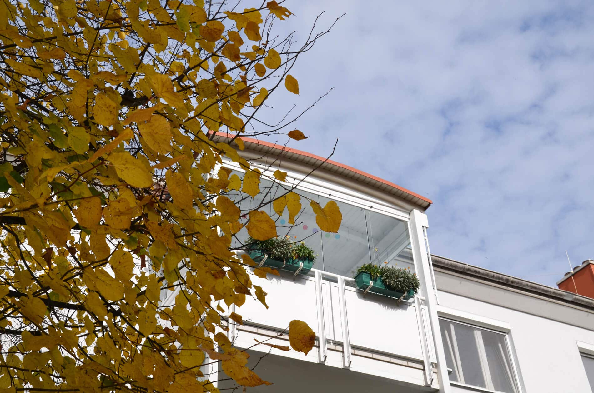 Balkon wetterfest machen