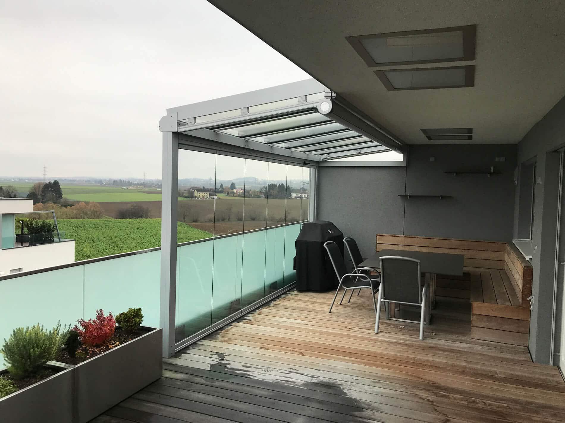Balkonüberdachungen Terrassenüberdachungen Bilder