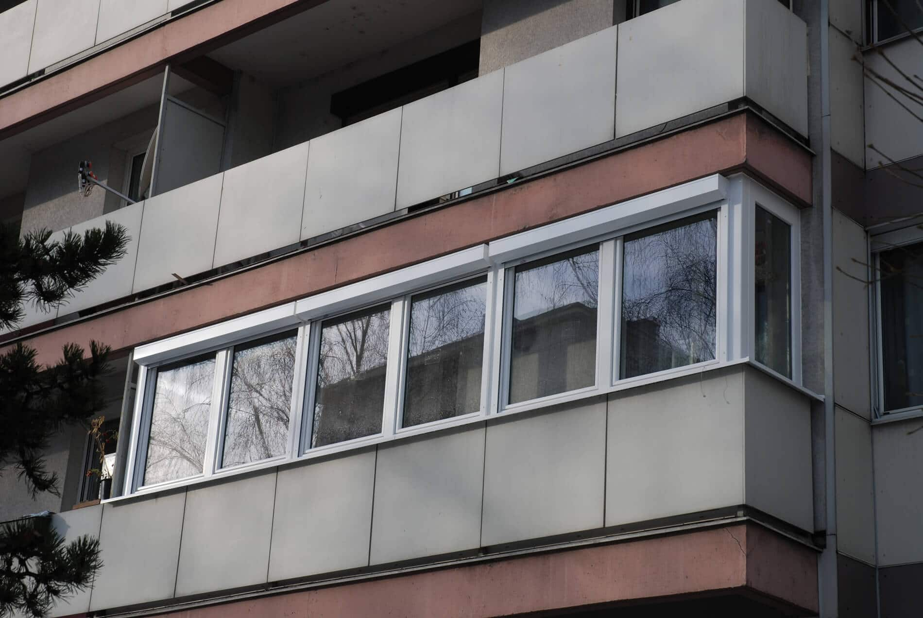 Balkonverbau ganzjährige Nutzung