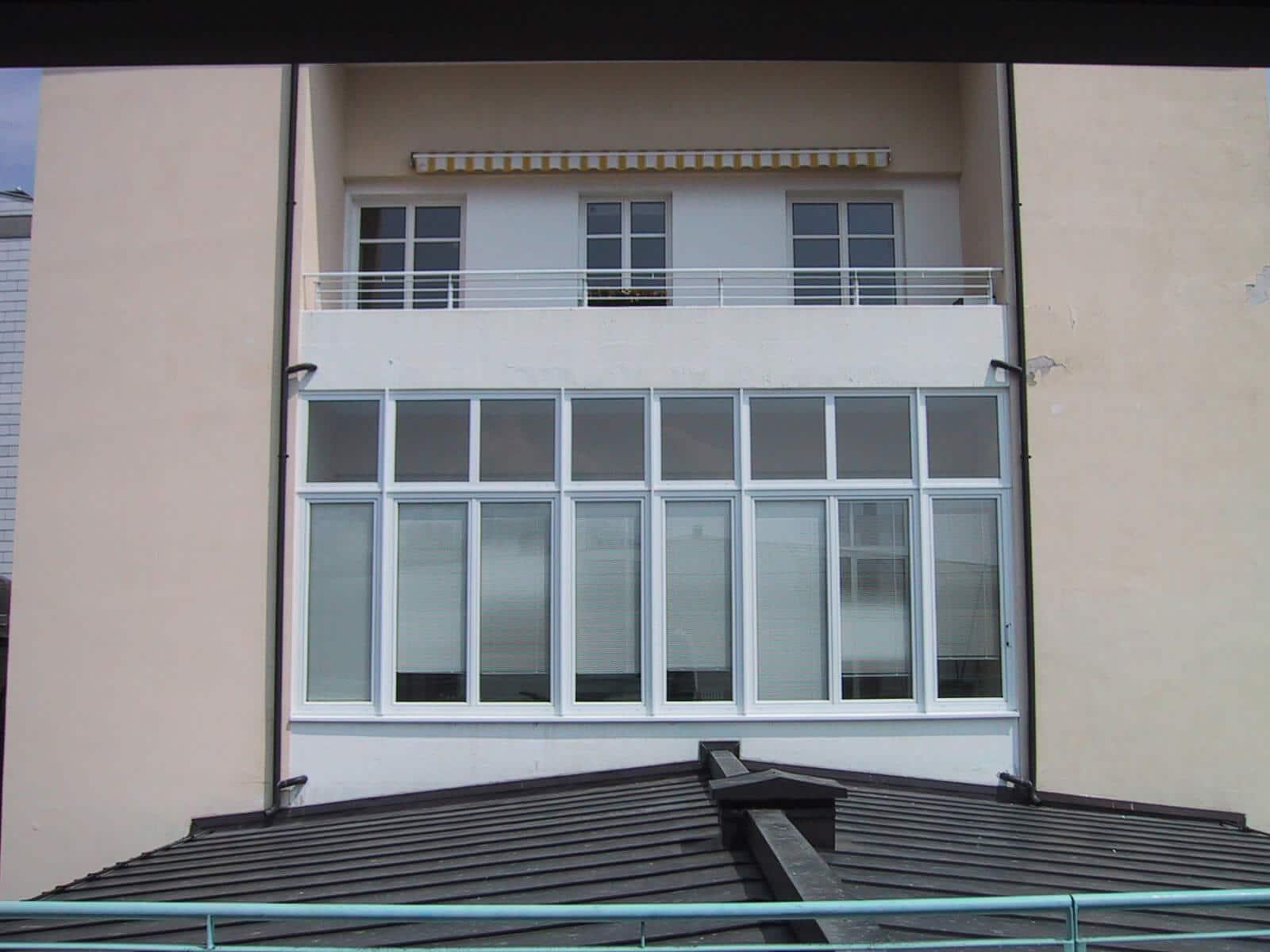 Balkonverbau mit Dreh-Kipp Fenster