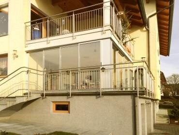 Balkonverglasung Referenzbilder