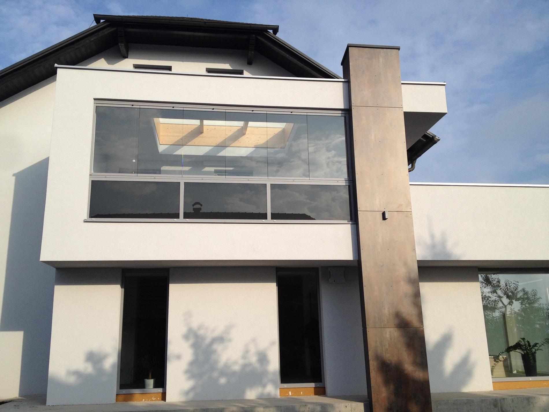 Balkonverglasung mit Sunflex