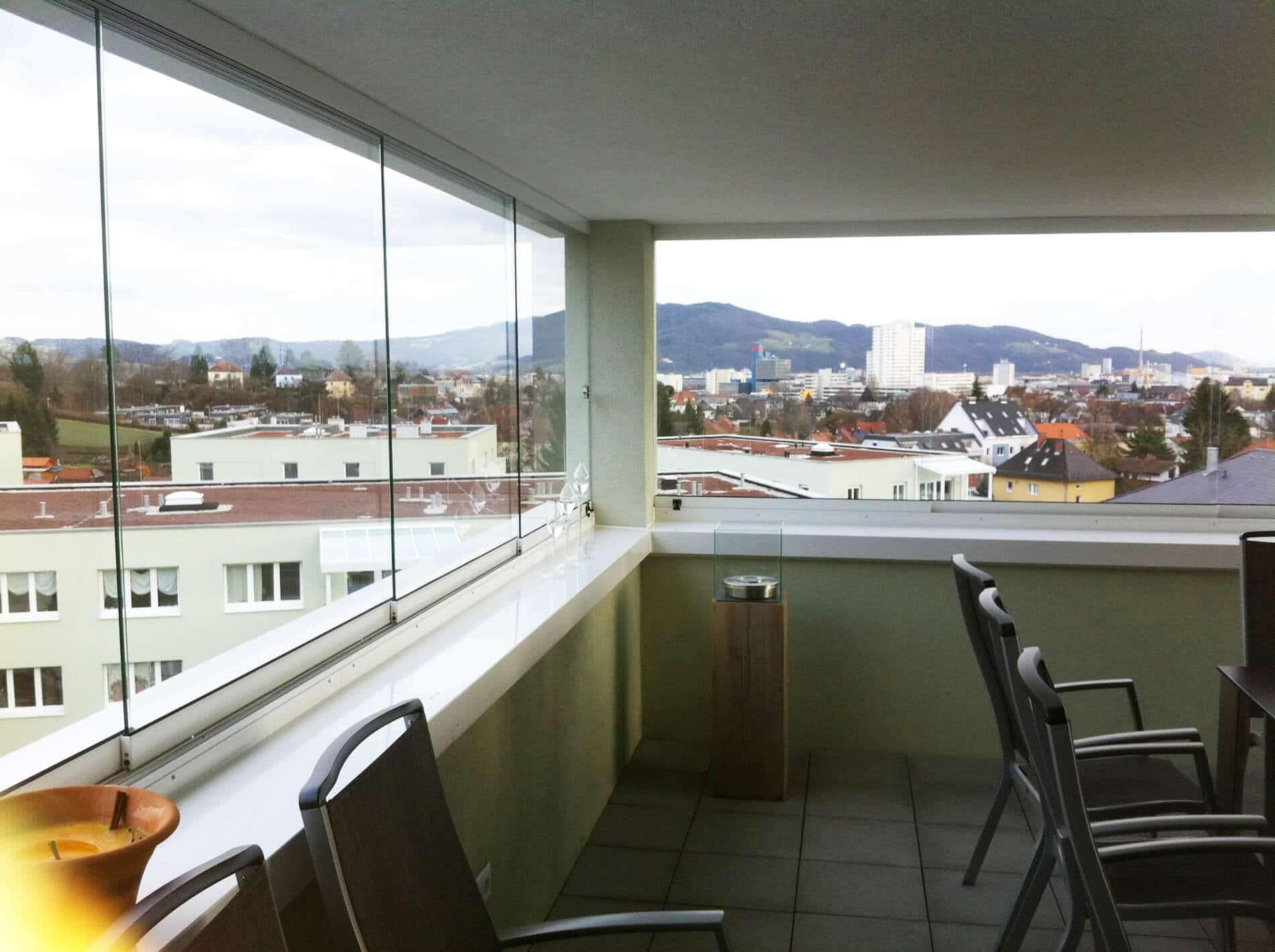 Balkonverglasung Österreich
