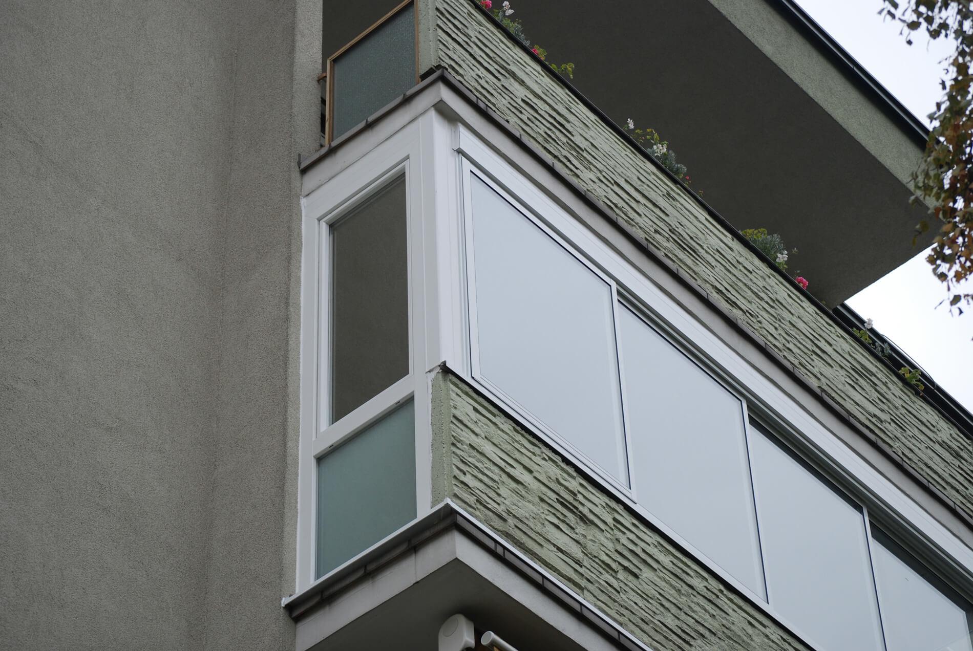 Balkonverglasung Schiebesystem Neher Multiraum