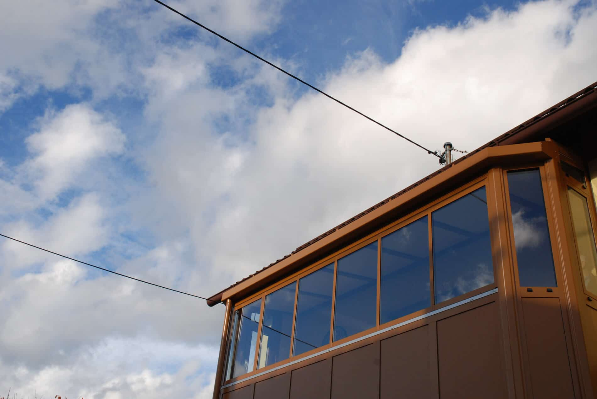 Balkonverglasung Sunflex Systeme