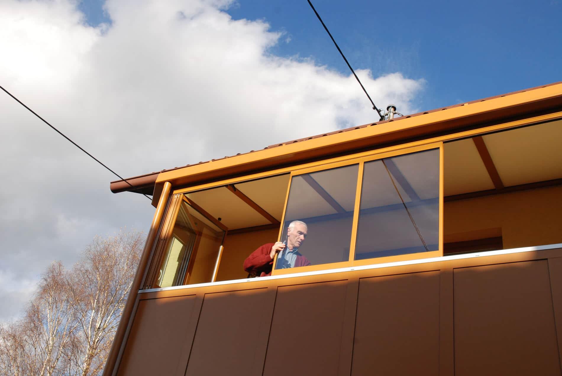 Balkonverglasung Sunflex