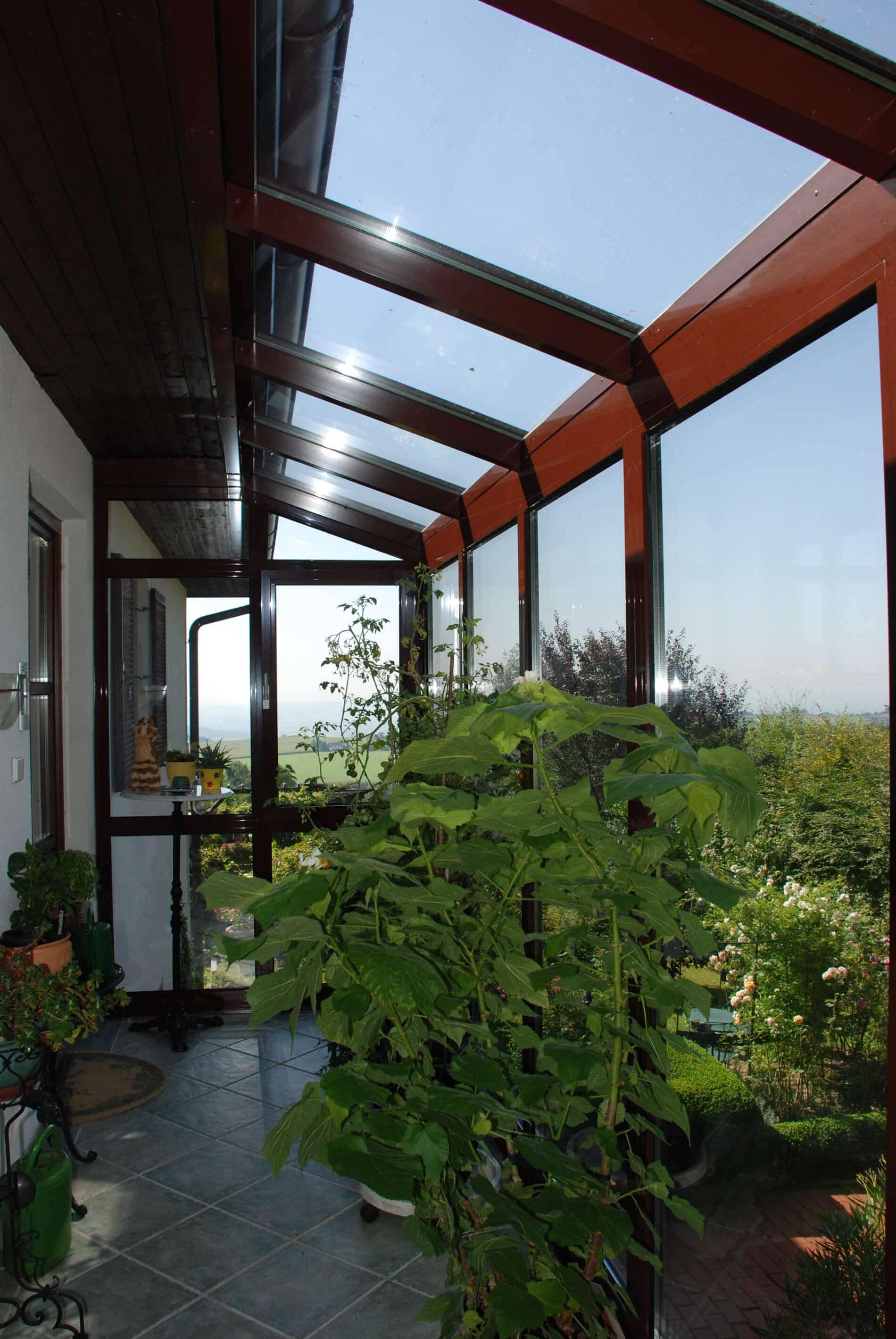 Balkonverglasung Wintergarten