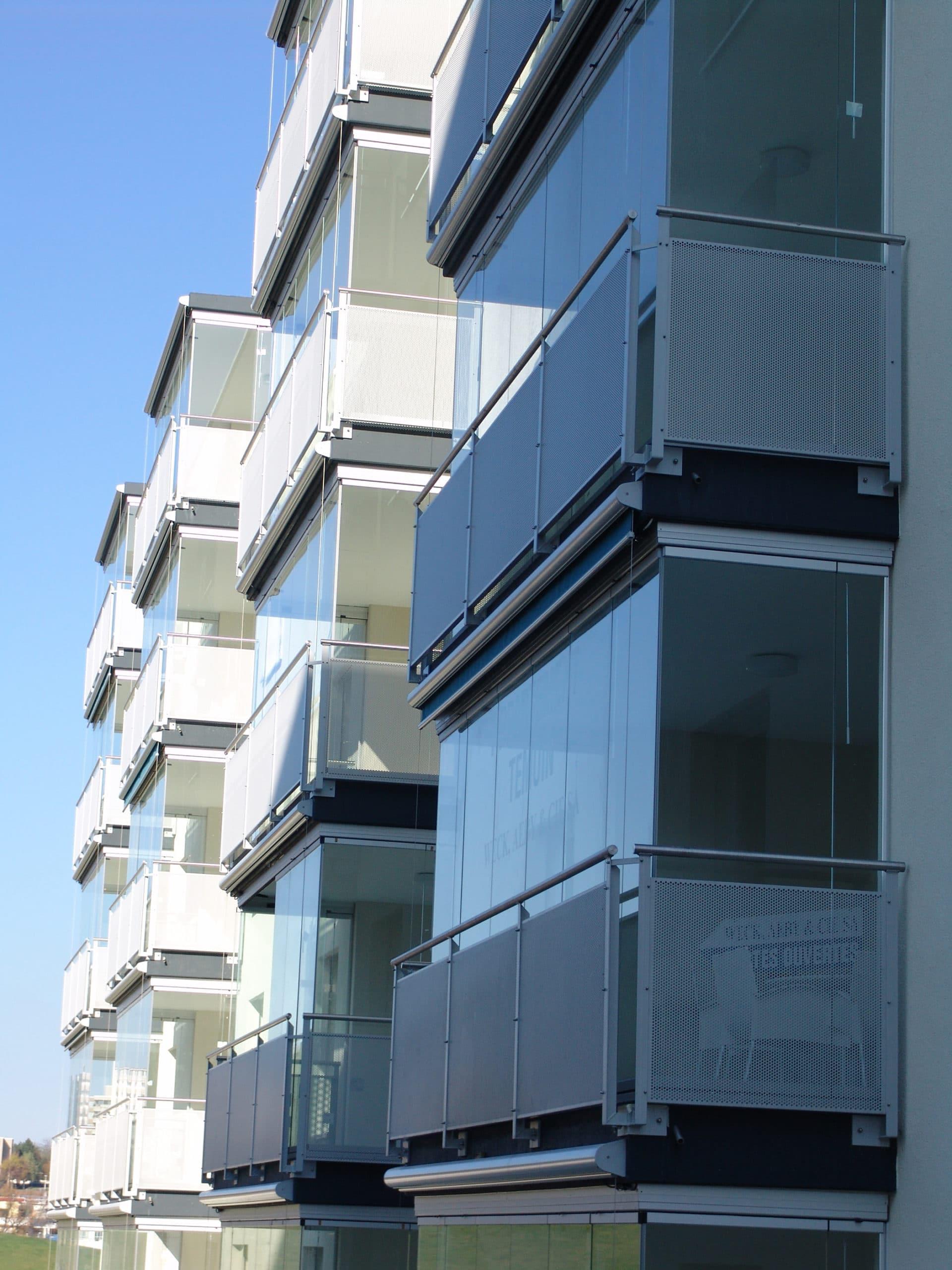 Balkonverglasungen Schiebedreh-Systeme Sunflex