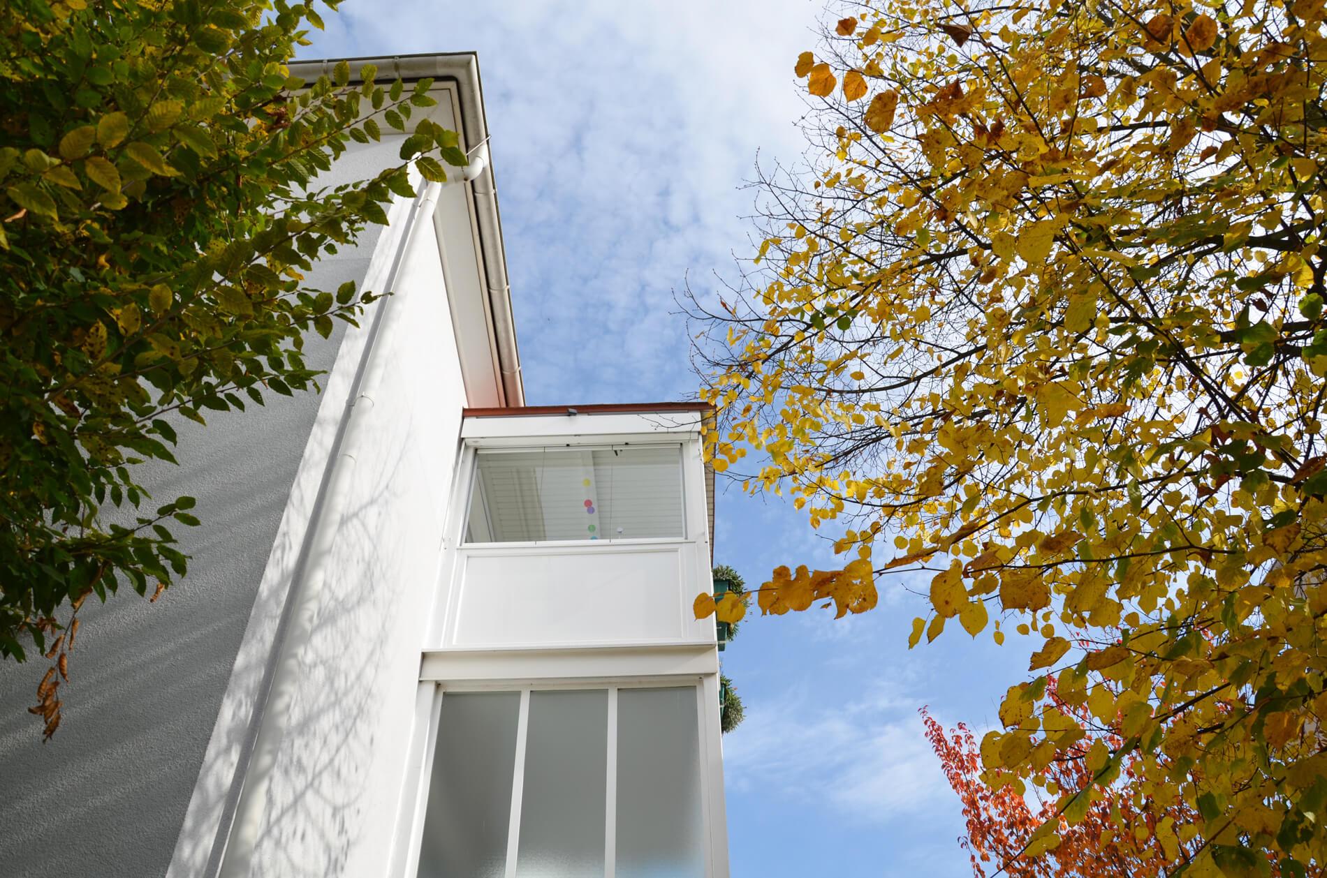 Balkonverkleidung Seitenteil