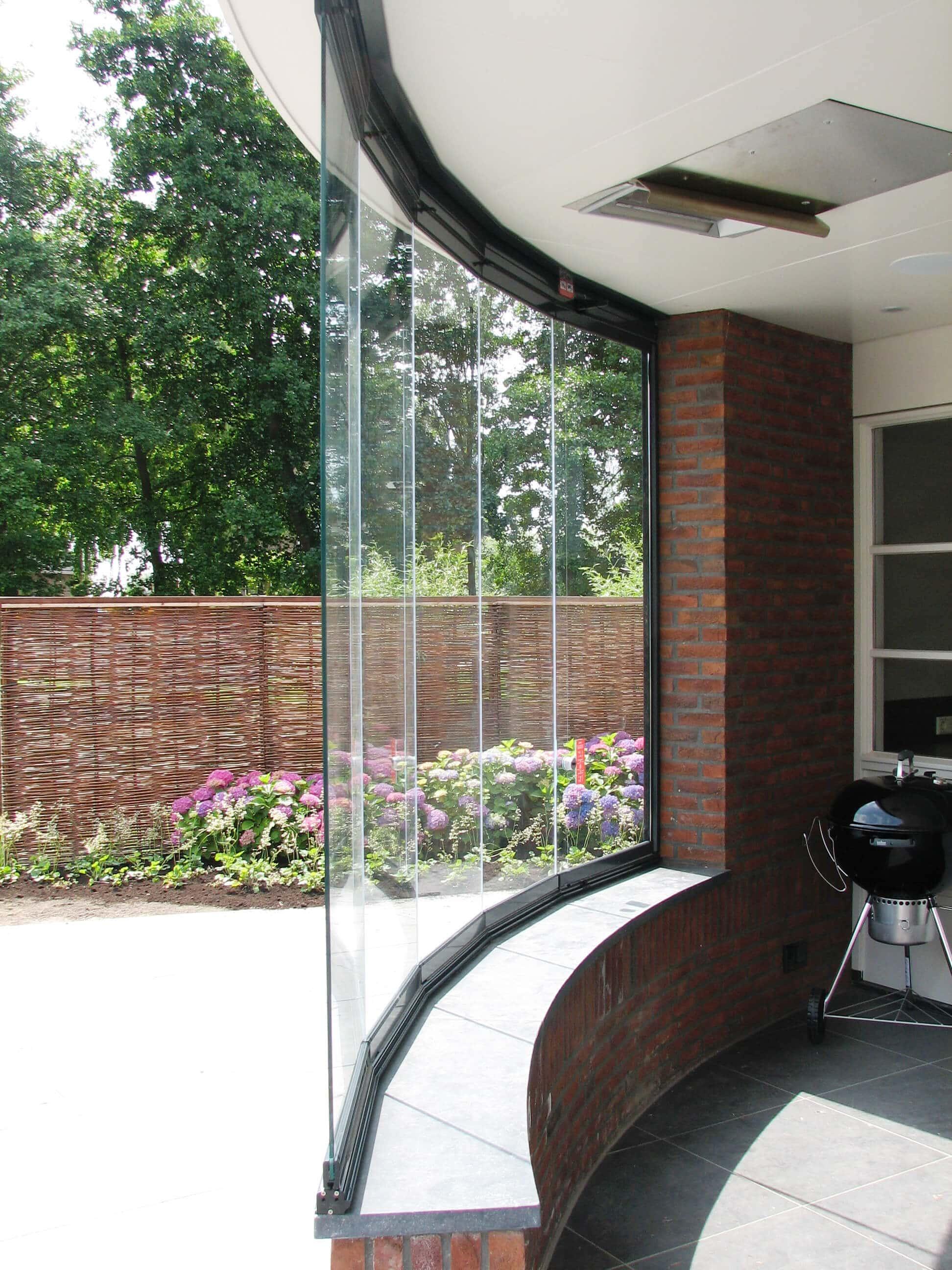 Falt-Schiebe-Fenster für Balkone
