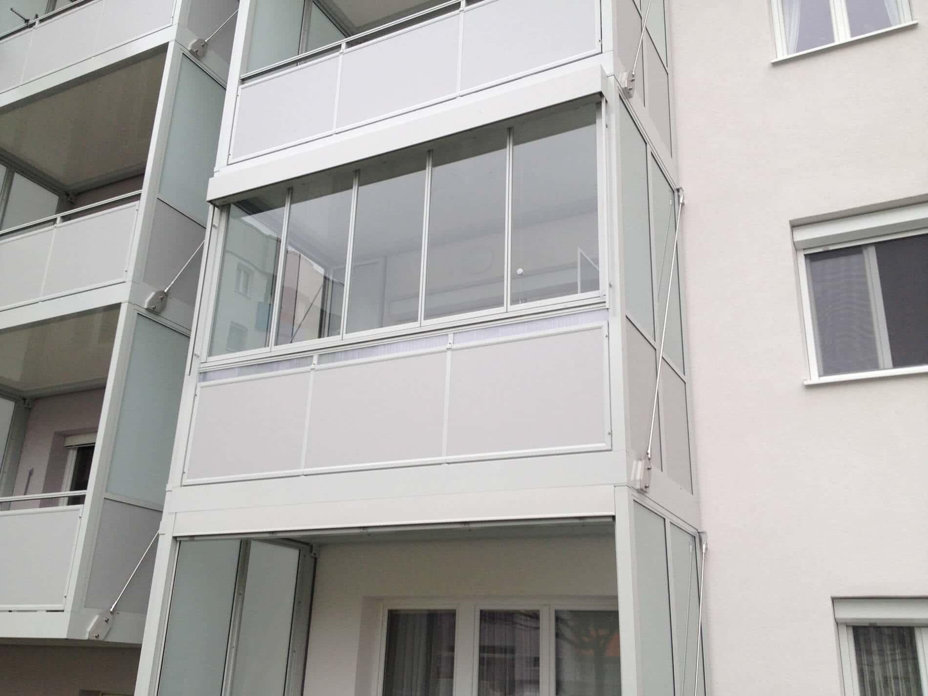 Faltanlage für Balkon