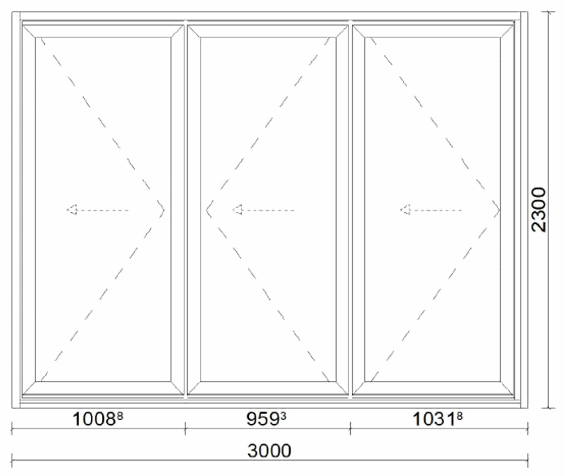 Faltanlage für Terrasse in Aluminium