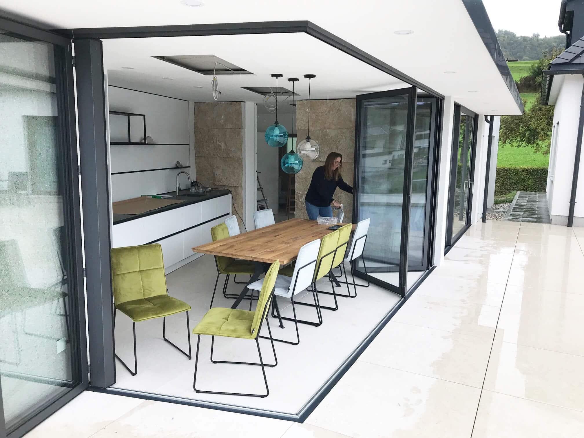 Falttüren Terrasse nach Maß