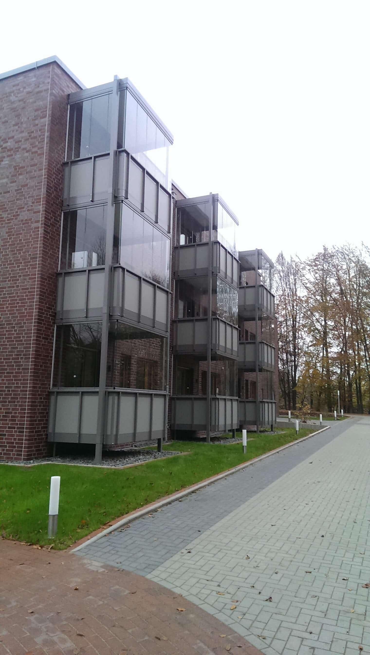 Glas-Schiebe-Dreh Fenster für Balkon-Wintergarten