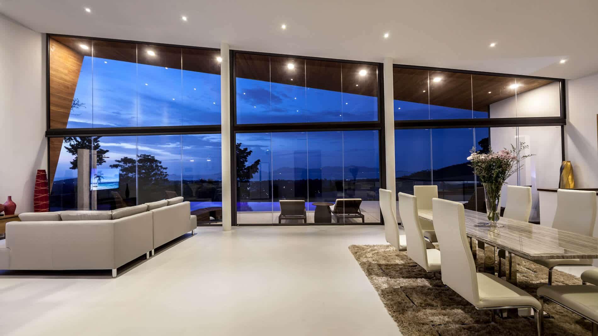Glas-Schiebewände Sunflex SF 20