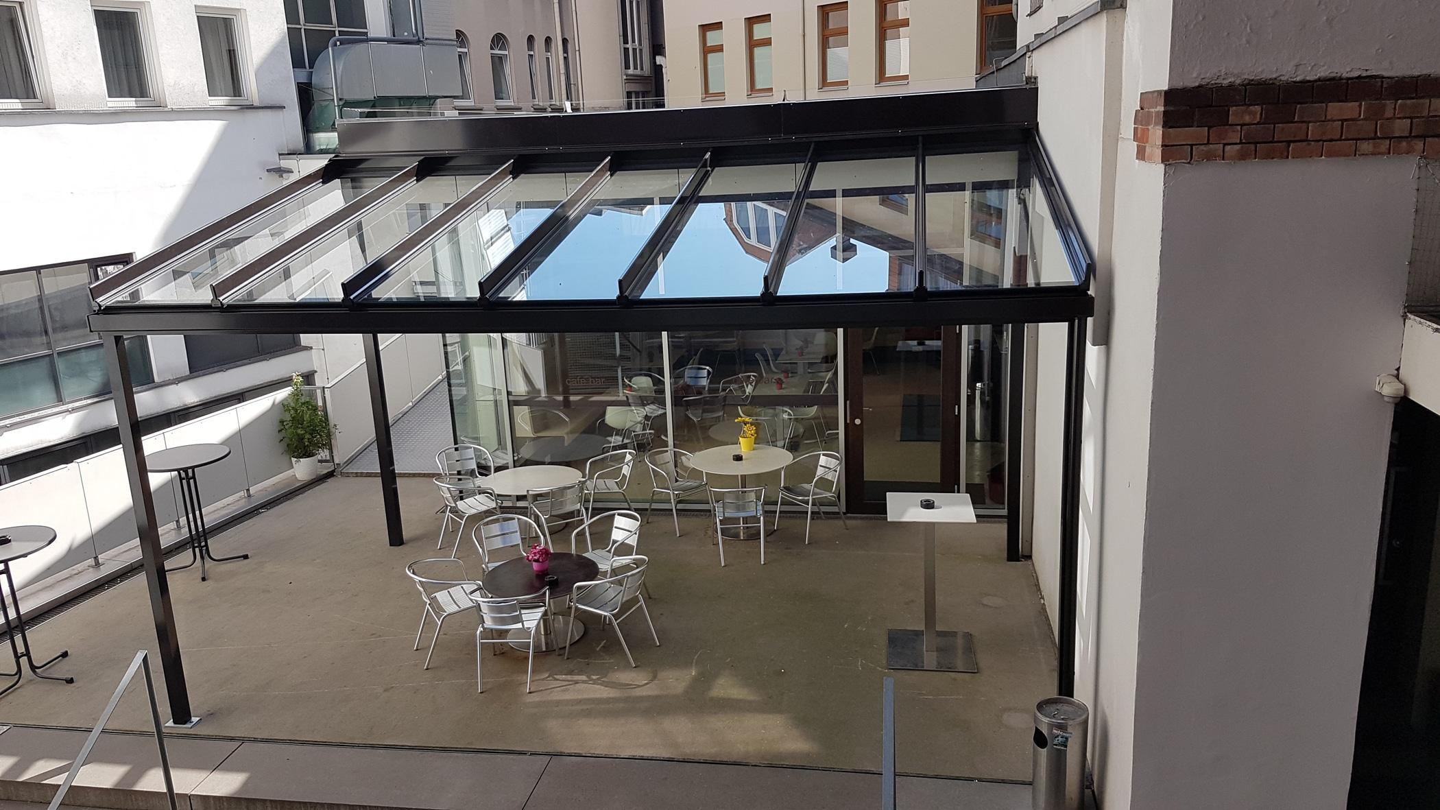 Glasdach für Terrasse - Oberösterreich