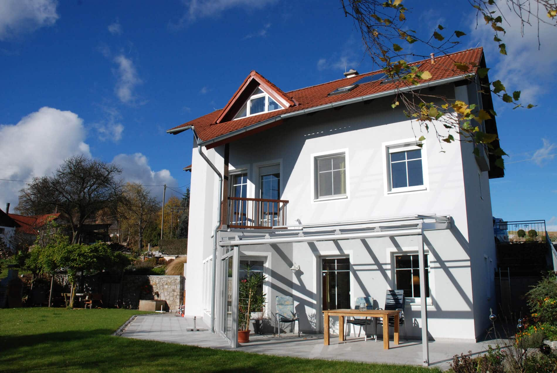 Terrassenuberdachung Pergola Mit Glasdach Wintergarten Schmidinger