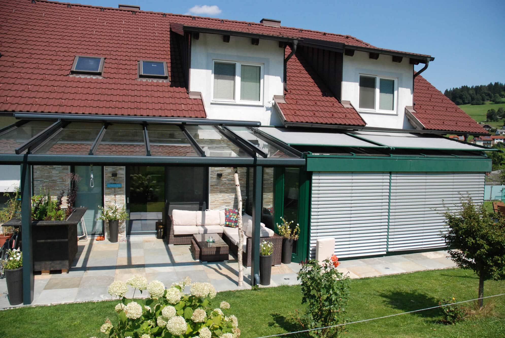 Glasdach Terrassenüberdachungen