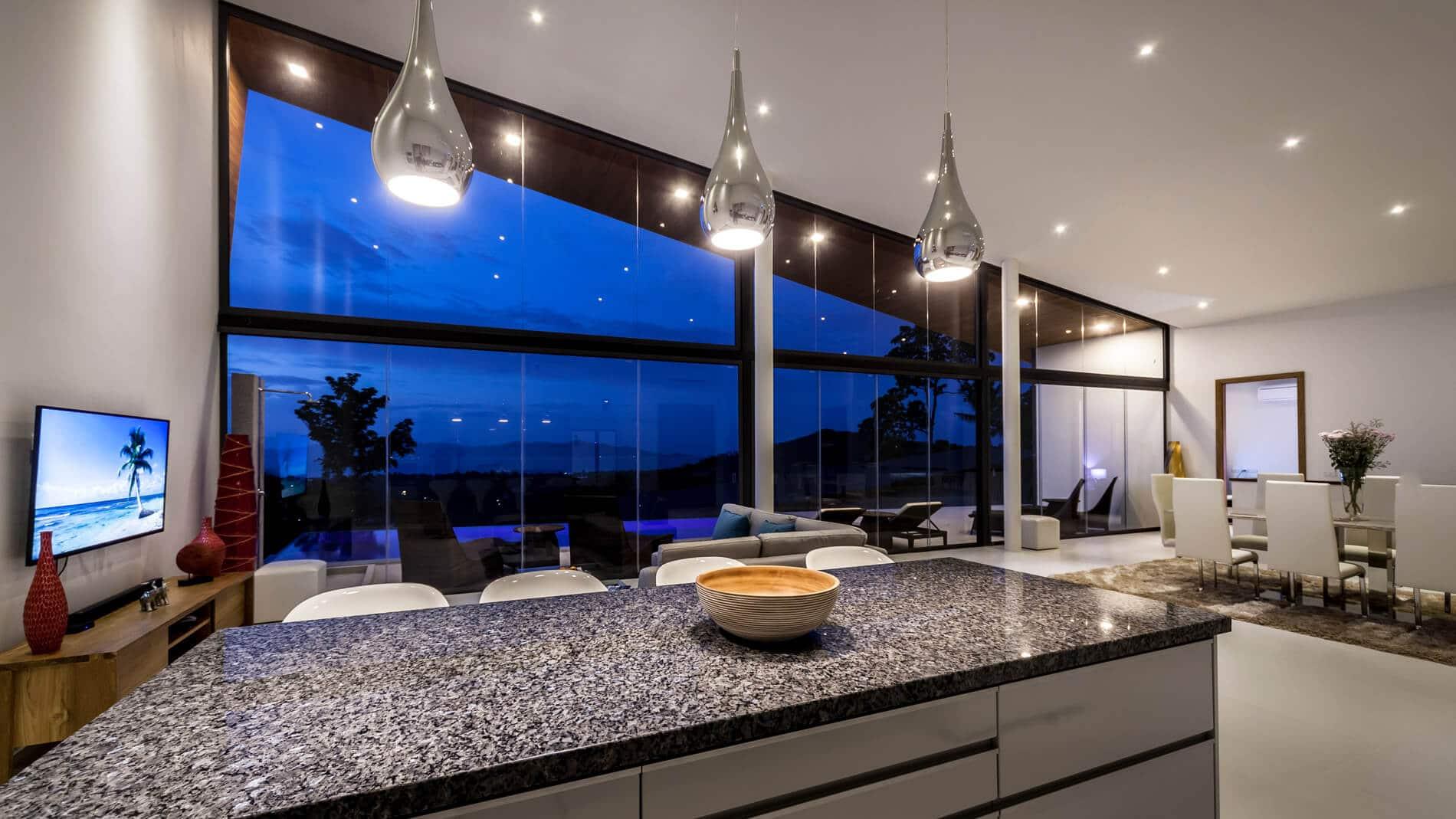 Glasschiebe-Konstruktion Sunflex Bilder