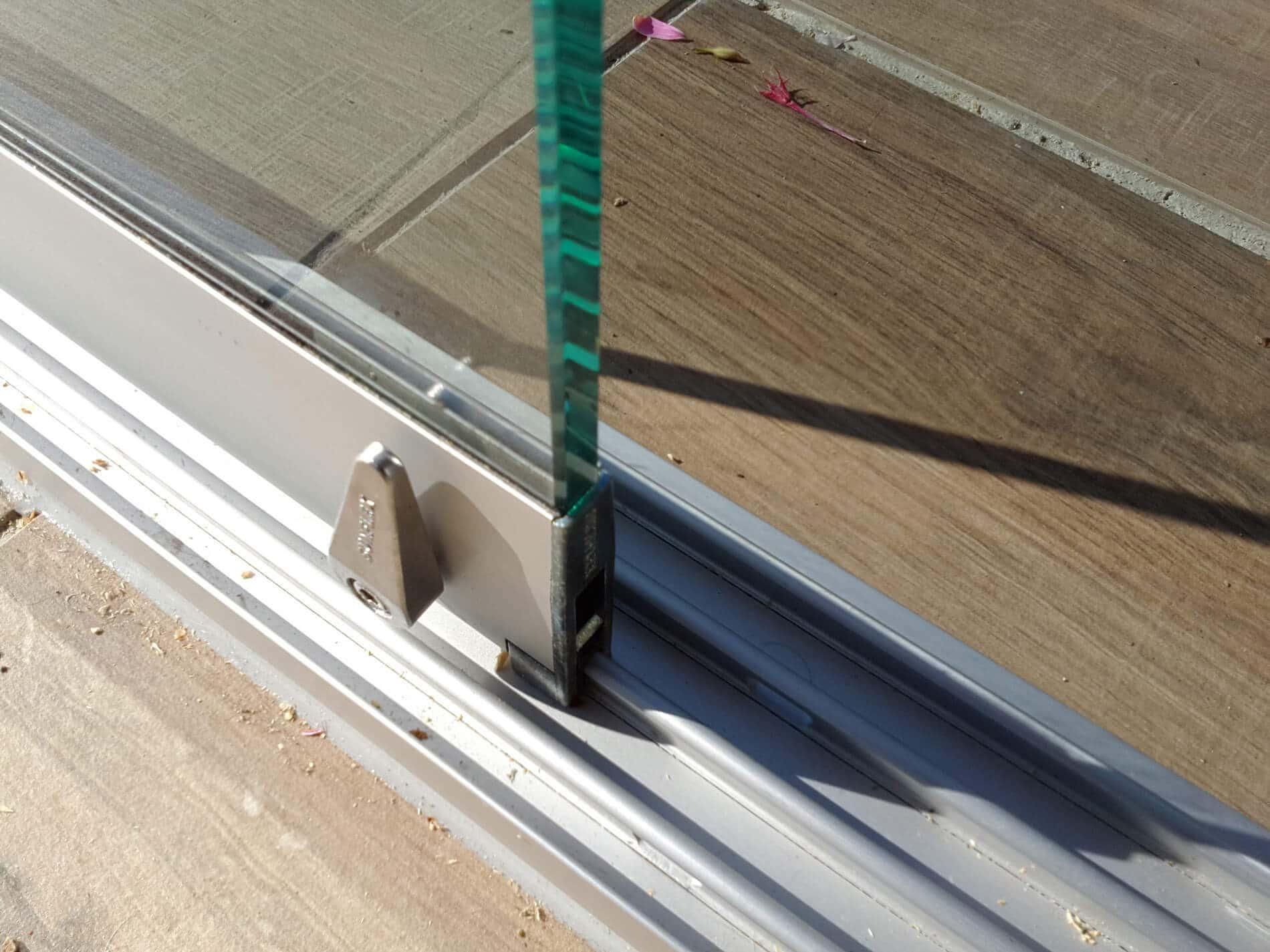 Glasschiebetüren für Terrasse Details