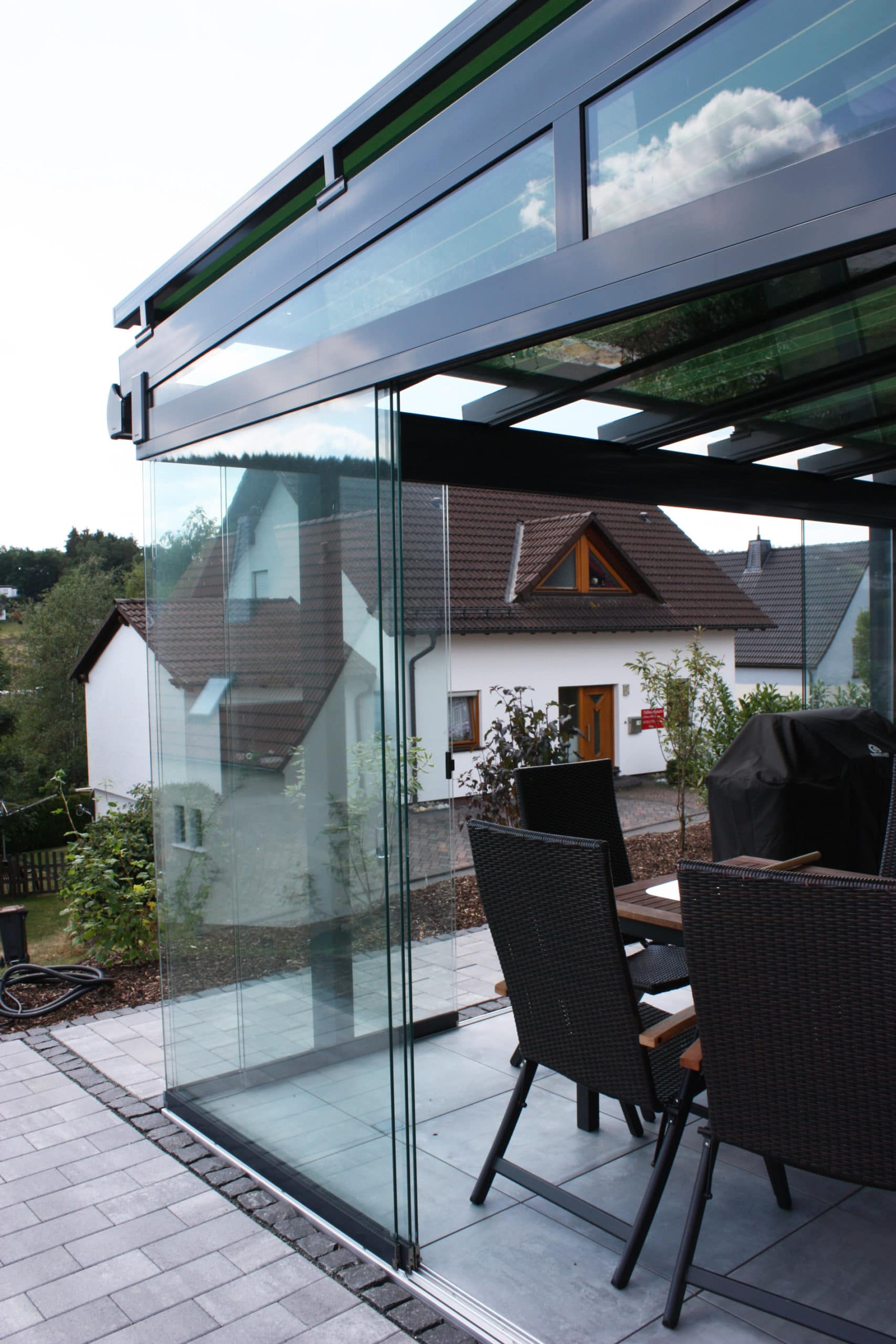 Glasschiebetüren Hersteller Sunflex