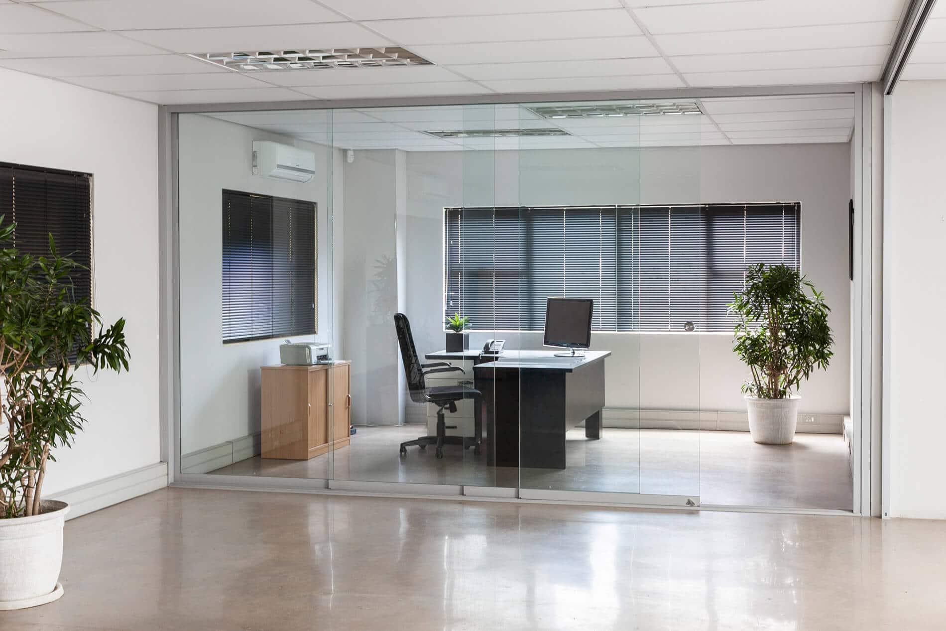 Glastrennwände Innenbereich Sunflex SF 20