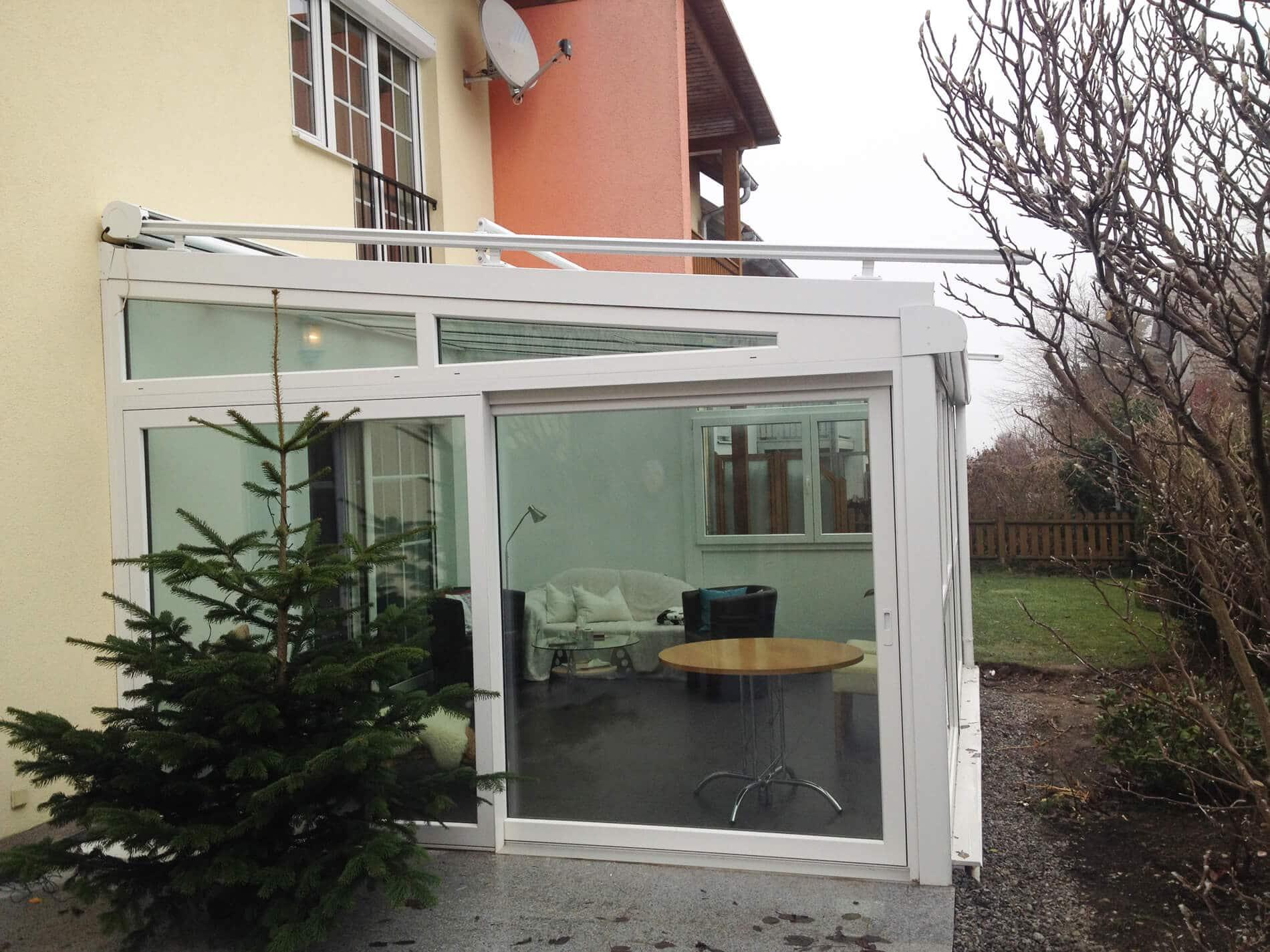Hebe-Schiebe-Türe für Wintergarten