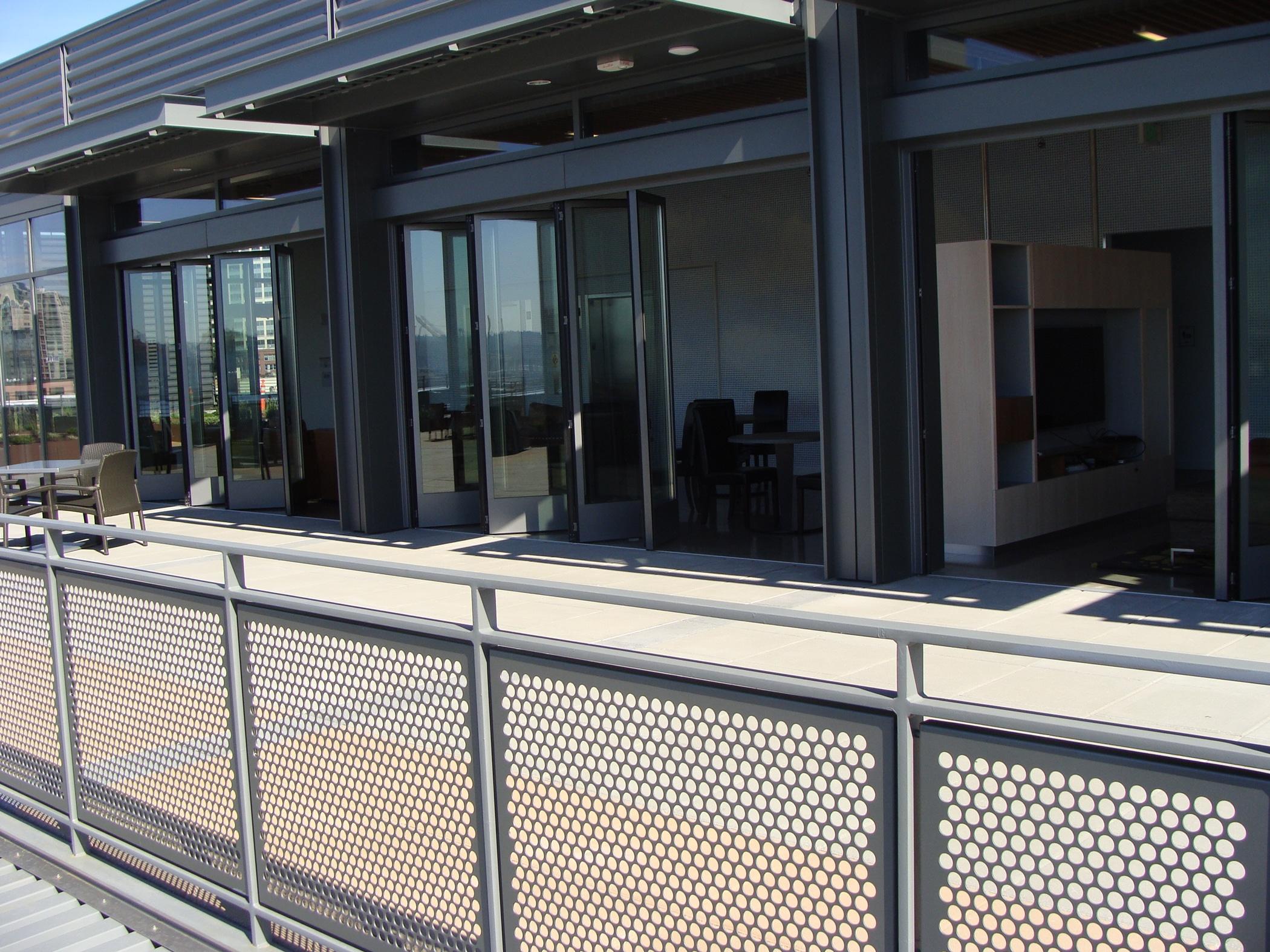 Hochwertige Aluminium Faltelemente für Terrasse