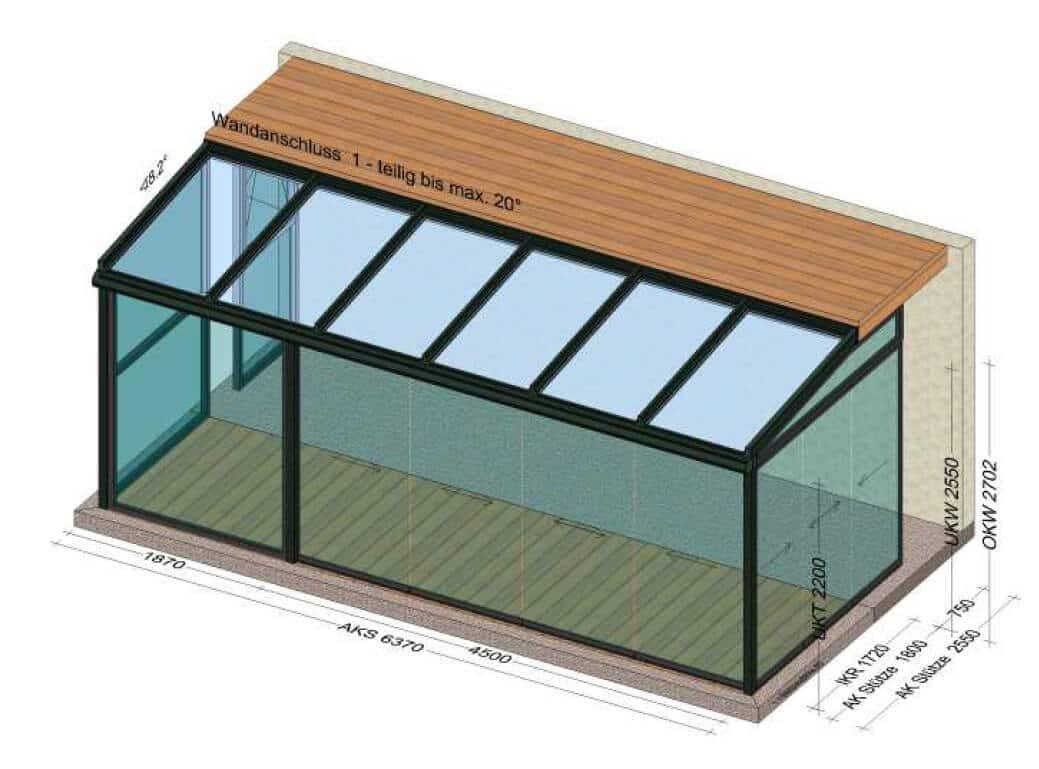 Hochwertige Wintergärten - Planung & Beratung Vorort