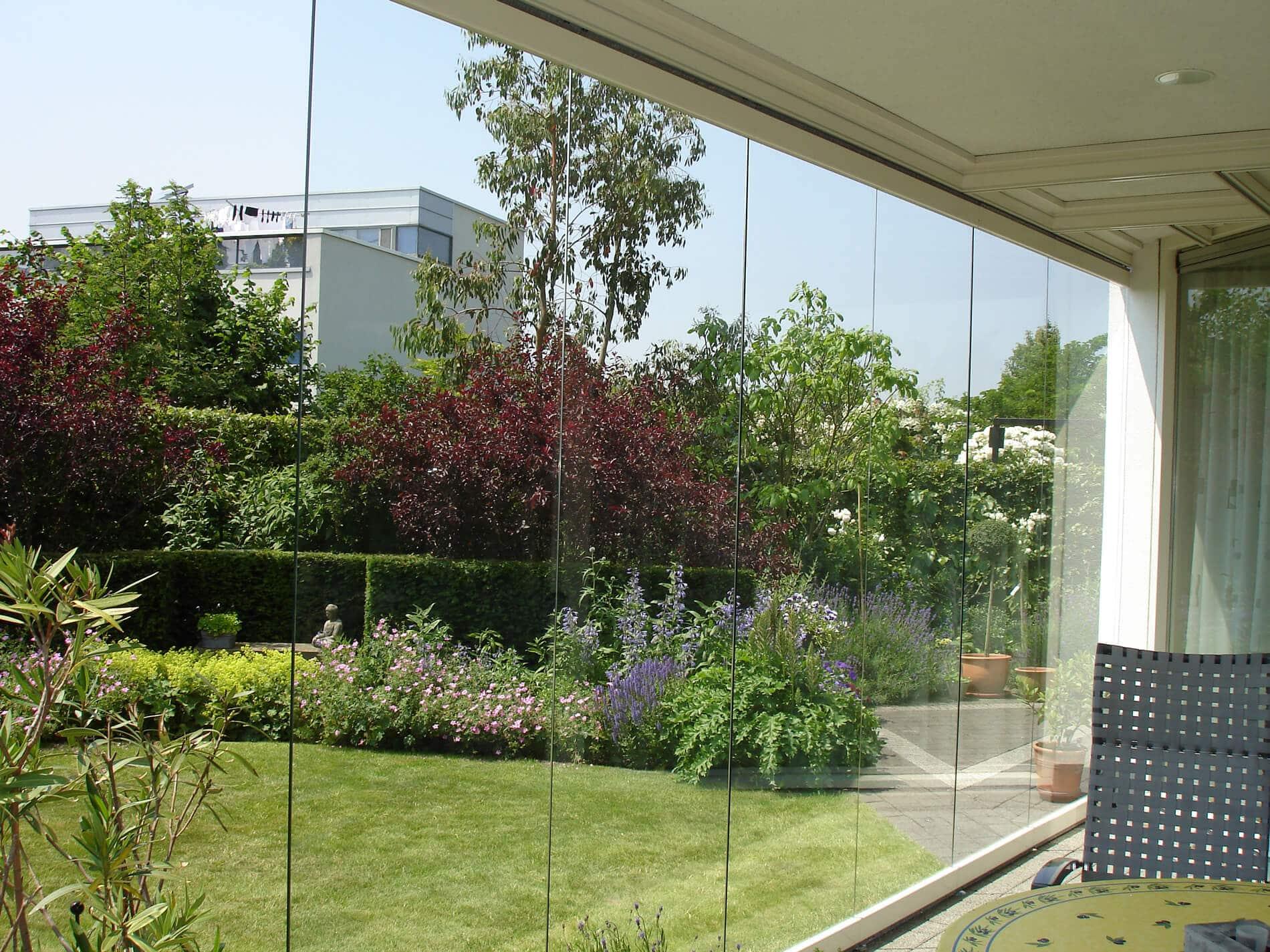 Horizontal-Schiebe-Konstruktion für Glashäuser