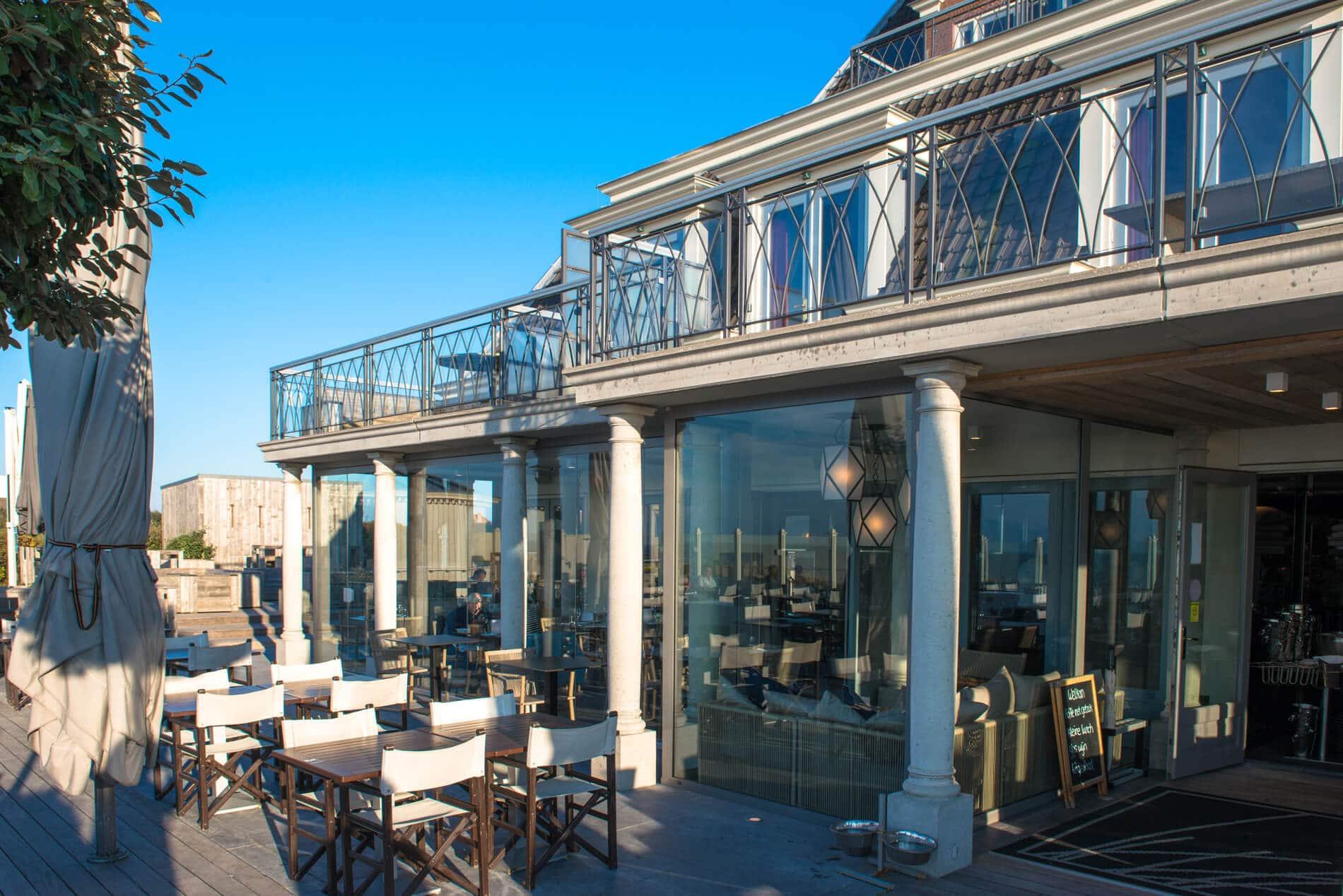 Horizontal-Schiebetüren für Terrasse