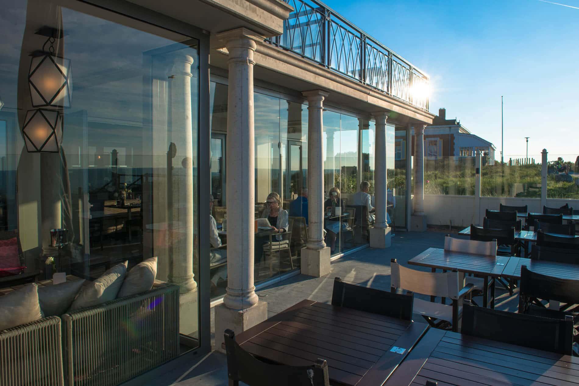 Horizontal-Schiebewand für Terrasse