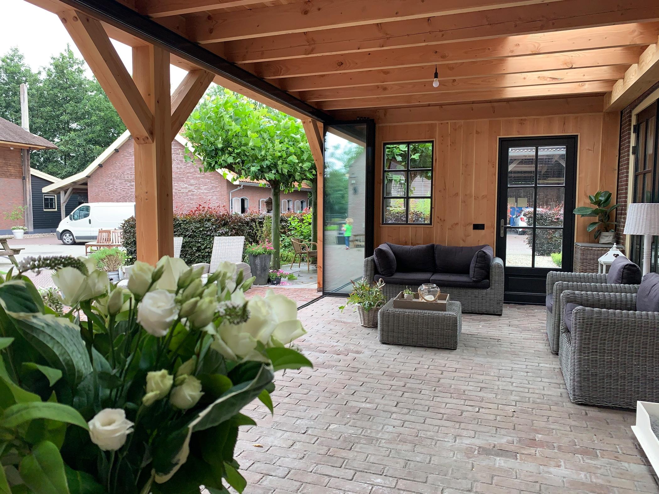 Ideen für Terrassenverglasung Schiebe-Dreh-Systeme von Sunflex