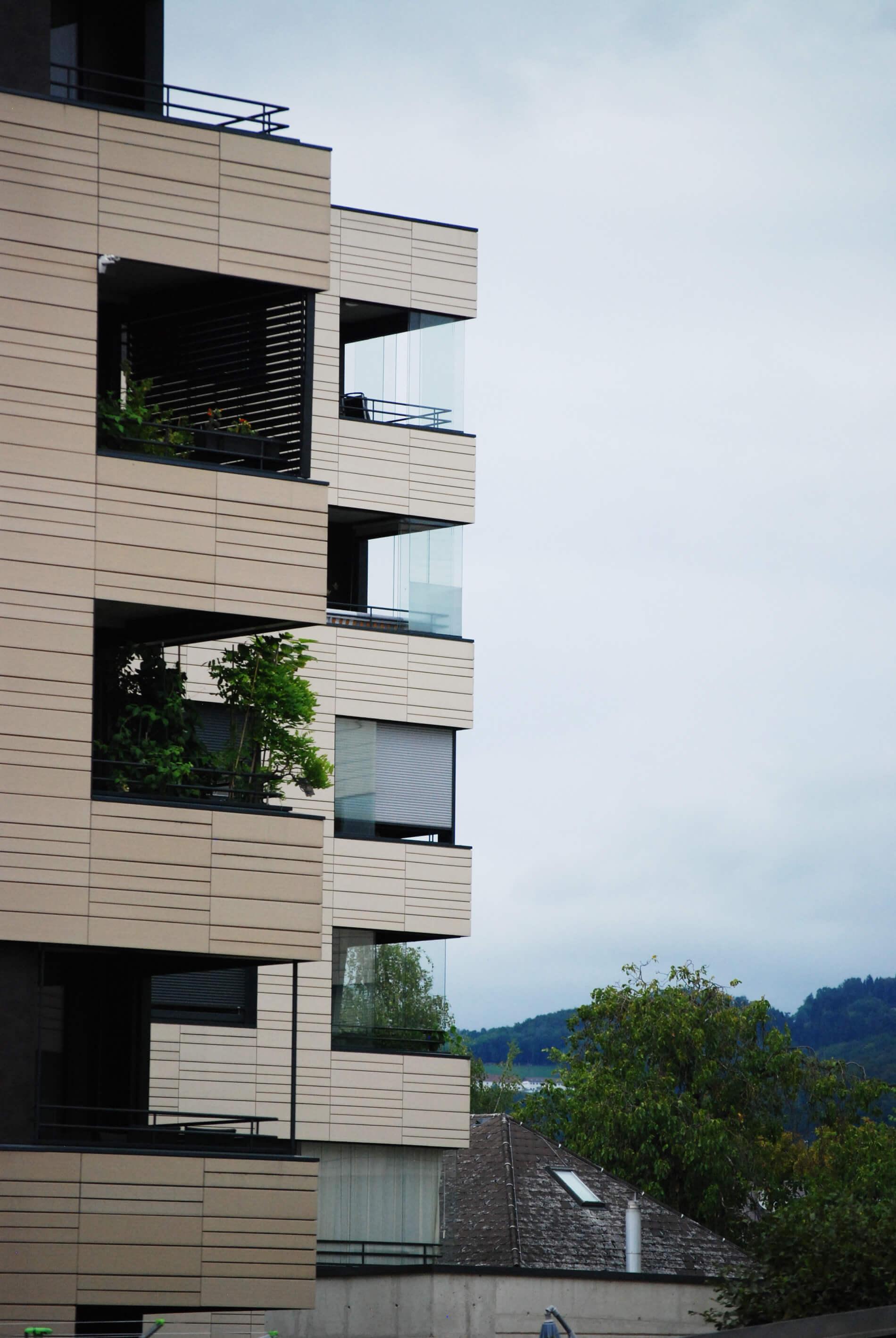 Kleiner Wintergarten für Balkone
