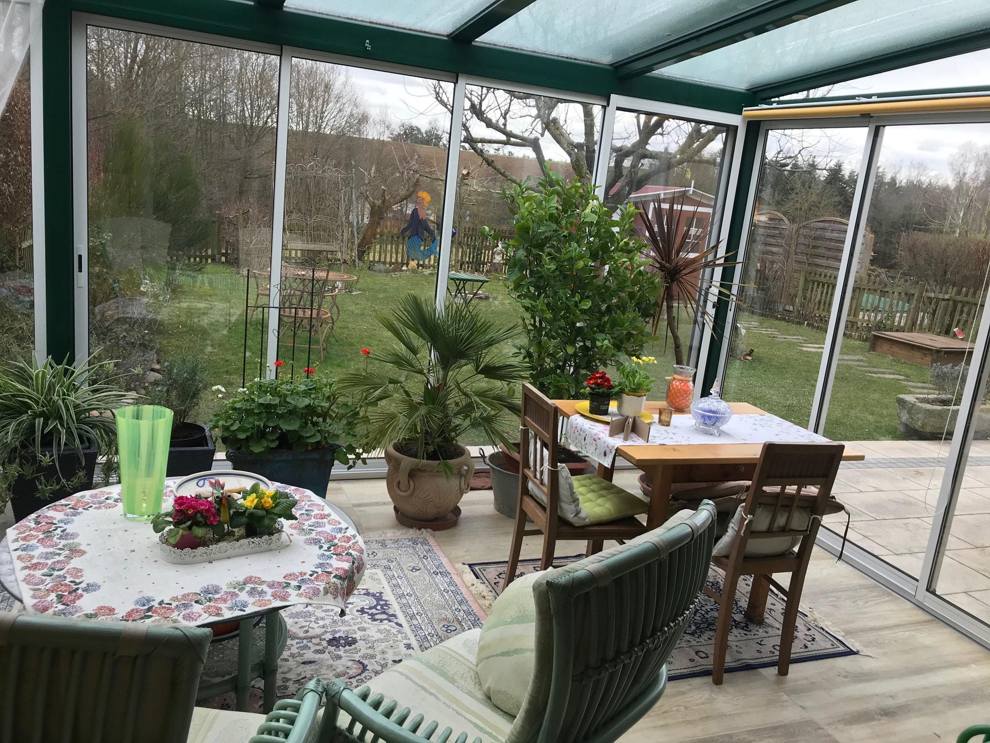 Leicht isolierte Wintergärten nach Maß angefertigt