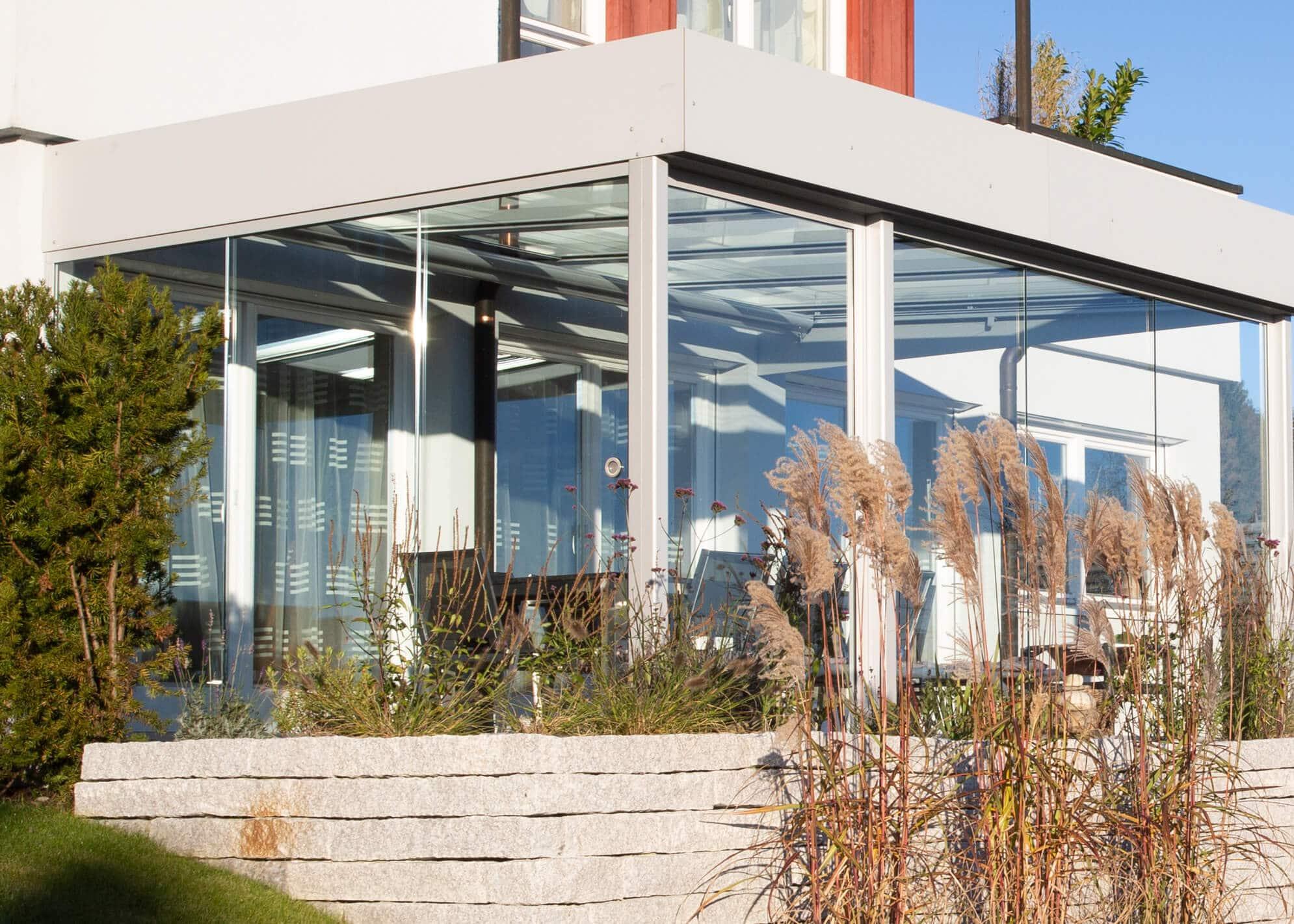 Moderne Sommergärten Alu