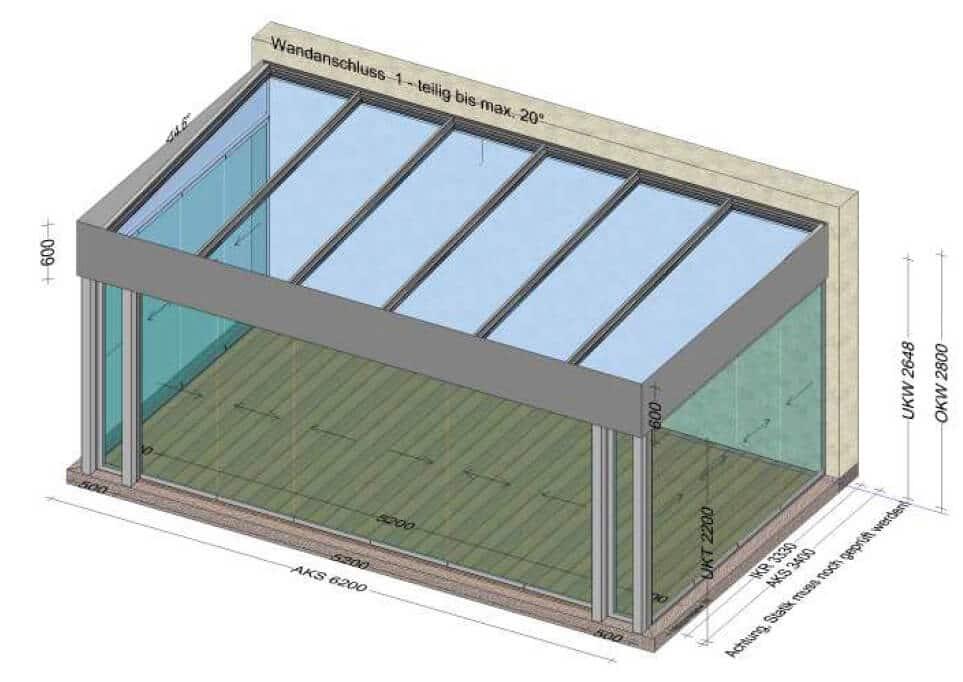 Moderne Wintergärten Aluminium