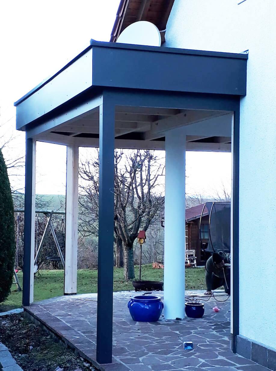 Montage Holz-Alu Wintergärten Österreich