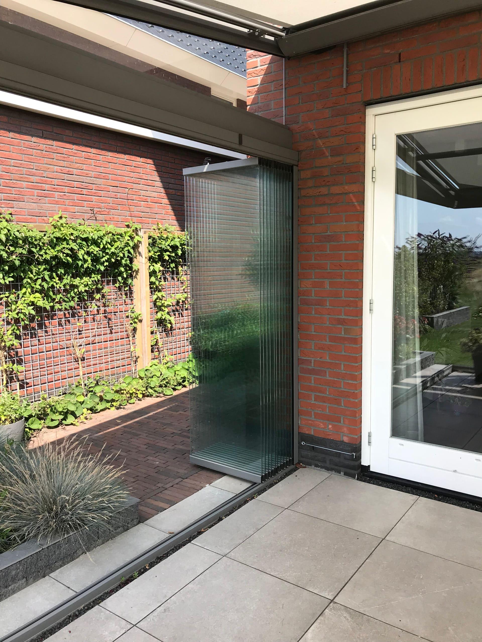Öffnungsbeispiele Schiebe-Dreh-Systeme Sunflex