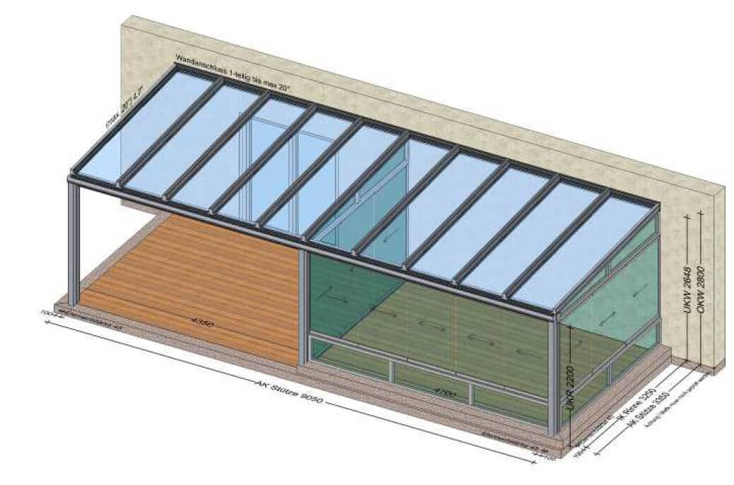 Planung Terrassenüberdachung vom Hersteller