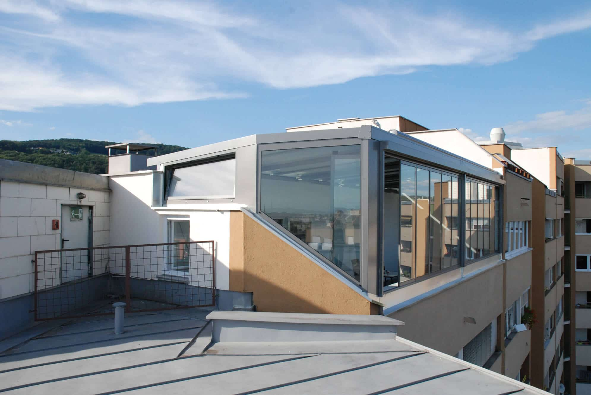 Premium-Sommergärten Chill-Lounge in grau