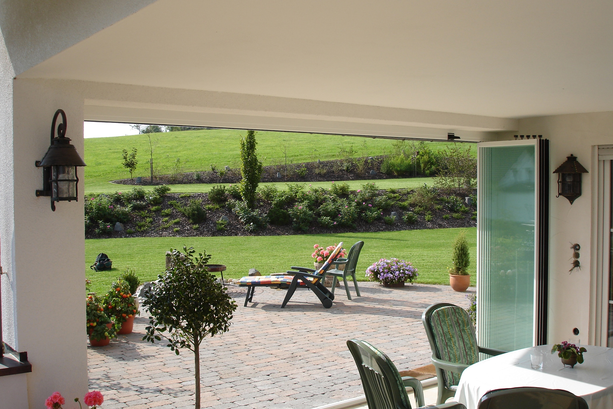 Regen- und Windschutz für Terrasse nach Maß